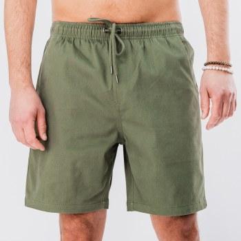 Bronxton Stretch-twill Walk Shorts w/ drawstring Waist