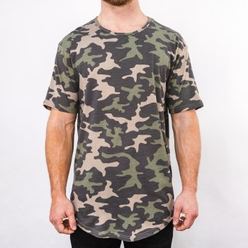 Bronxton Camo Original Long Tee
