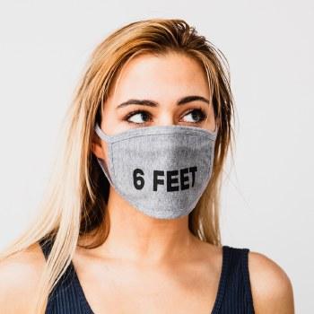 Bronxton Printed Jersey Knit Facemask