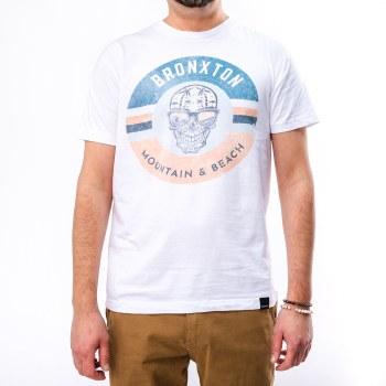 Bronxton Designs Printed Skull Island T-Shirt