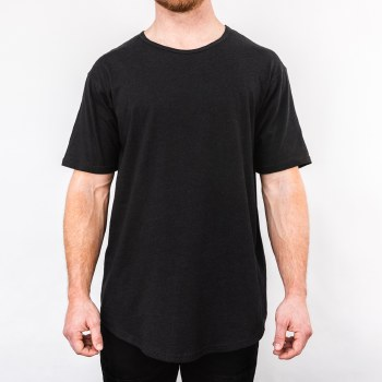 Bronxton Short Sleeve Relaxed Neck Long Tee