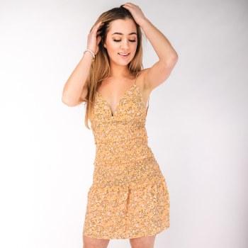Tier Mini Dress