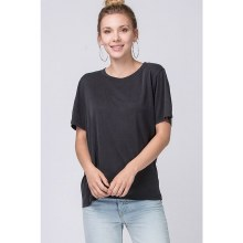 Black Oversized Short Sleeve
