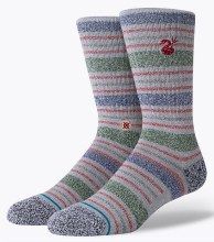 Stance Leslee Striped Men's Crew Socks
