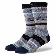 Stance Tucked-In Multi-Stripe Men's Crew Socks