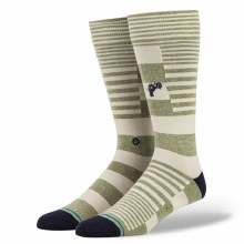 Stance Power Flower Army Green Socks