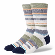 Stance Illio Multi-Stripe Men's Crew Socks