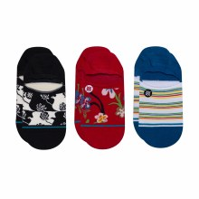 Stance Ralph 3-Pack No-Show Men's Socks