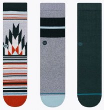 Stance Set-of-3 Classics Men's Crew Socks