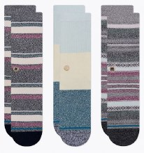 Stance Multicolor 3-Pack Bu Bu Butterblend Men's Crew Socks