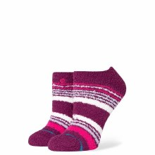 Stance Puffer Up Socks Purple