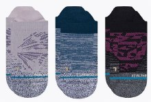 Stance 3-Pack Flutter Women's Tab-length Socks
