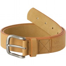 RVCA tan truce leather belt l/xl
