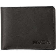 RVCA CREST BIFOLD BLACK