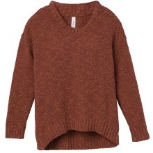 RVCA HENNA ZIGGED KNIT SWEATER