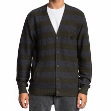 RVCA CALI BUTTON-UP CARDIGAN S