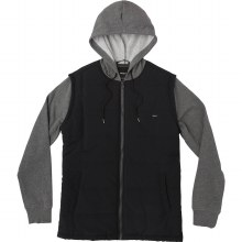 RVCA SMOKEY GREY HEATHER LOGAN