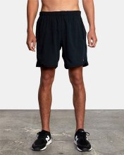 RVCA Yogger Stretch Short Black