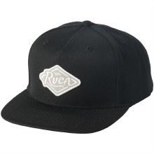 RVCA SCRIPT SNAPBACK BLACK