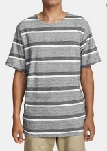 RVCA Repeater Short Sleeve Striped Tee