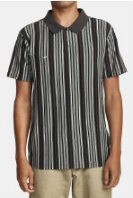 RVCA Highway Short Sleeve 3-button Collared Tee