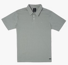 RVCA Sure Thing Short Sleeve 3-button Collared Tee
