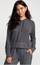 RVCA Night Off Long Sleeve Waist Length Hoodie