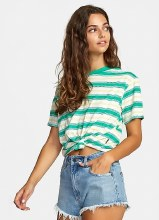 RVCA Radley Short Sleeve Round Neck Striped Tee