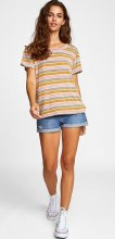 RVCA Recess 3 Short Sleeve Round Neck Multi-Stripe Tee