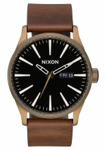NIXON BRASS/BLACK/BROWN SENTRY