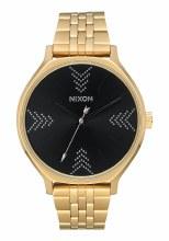 NIXON Clique, 38 mm Gold / Black / Arrows