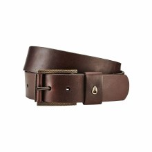 Nixon Brown Americana Vegan Belt