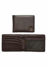 Nixon Cape Vegan Brown Leather Wallet