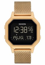 NIXON Siren Milanese, 36 mm All Goldtone