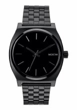 NIXON Time Teller 37m in All Black