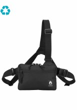 Nixon Black 2-Strap Bandit Bag