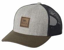 RVCA All-the-Way Mesh Back Curved Bill Snapback Cap
