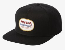RVCA Elliptic Flat Bill Snapback Cap