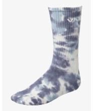 RVCA Tie Dye Jacquard Crew Socks