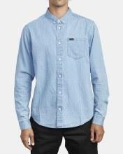 RVCA Hastings Long Sleeve Denim Shirt