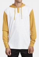 RVCA Pick Up II Long Sleeve 2-Color Hooded Henley