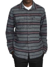 RVCA Blanket Long Sleeve Flannel