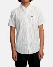 RVCA Cassidy Stripe Short Sleeve Shirt