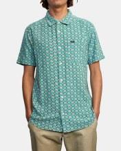 RVCA Vanner Gauze Short Sleeve Shirt