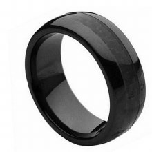 Bronxton Ceramic Ring Black