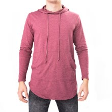 Bronxton Basic Long Sleeve Long Light Hoodie