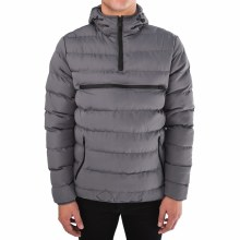 PX CHARCOAL PUFFER PULLOVER JACKET