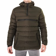 PX OLIVE PUFFER PULLOVER JACKET