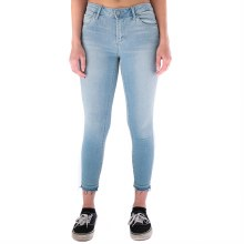 Light Denim Skinny Crop Jeans
