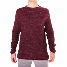 BURGUNDY WAFFLE TEXTURED LONG